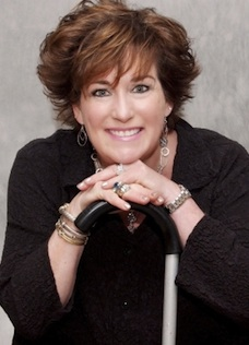 Julia Garrison overcoming stroke speaker, speaker on grit humor adversity, speaker on womens health, speaking well being
