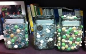3 jewell jars